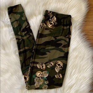 Pants - Skull & Camo Leggings